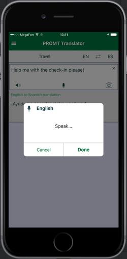 Mobile translators PROMT and Online-Translator com for business